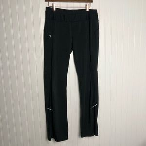 Athleta straight leg black athletic pants